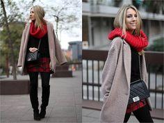 Primark Coat, Celop Punto Skirt, Chanel Bag [Lookbook]