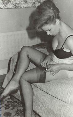 Vintage nylon pics