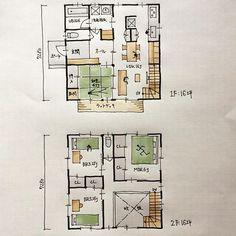 『32坪の間取り』 ・ 和室とLDKを1階に納めた間取りです。 リビングの上は吹抜けとしました。 ・ 吹抜けを作る場合、階段を絡めるとよいと思います。 ・ #32坪の間取り #間取り#間取り集 #間取り力 #間取り図 #間取り萌え #間取りフェチ #間取りマニア #間取り図好き #間取り図大好き #設計事務所とつくる家 #建築家とつくる家 #マイホーム計画#マイホーム計画開始 #マイホーム計画三重 #三重の家 #三重の住宅 #三重の建築家 #三重の建築家 #三重の間取り #四日市市#鈴鹿市#桑名市#津市#菰野町#和室のある間取り#吹抜けのある間取り