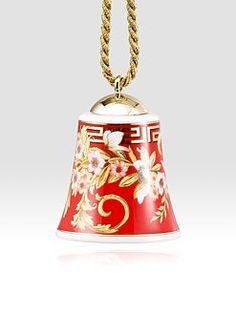 Versace - Bright Christmas Porcelain Bell