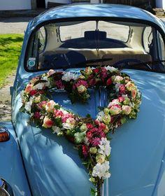 Herz Käfer Hochzeit