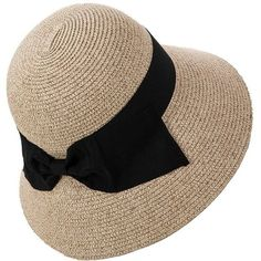 Siggi Floppy Summer Sun Beach Straw Fedoras Hats Wide Brim for Women... ($20) ❤ liked on Polyvore featuring accessories, hats, summer floppy hat, fedora hat, straw hat, beach sun hat and floppy hats #womenhatsfloppy