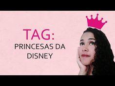 TRACINHAS: TAG - Princesas da Disney, por Juliana Arruda