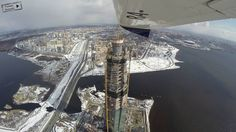 #Санкт-Петербург #Питер #Лахта #Башня #Полет