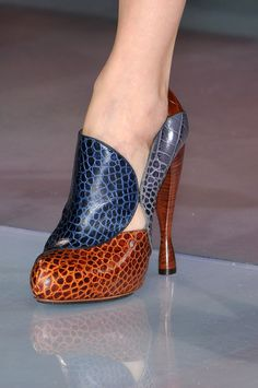 These Emporio Armani definitely caught my eye - and isn't that what a shoe is supposed to do?