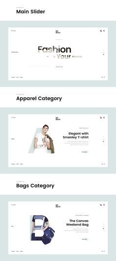 Mr.Bara - Fashion Minimal Concept on Behance