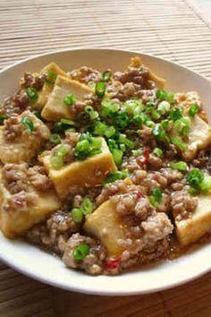 Rice Susumu ~ with ground pork ♪ ご飯ススム~厚揚げと豚ひき肉♪
