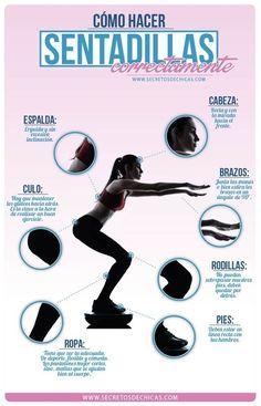 Es cosa de dar el primer jalón... Health And Fitness Tips, You Fitness, Fitness Goals, Fitness Watch, Fitness Blogs, Fitness Tracker, Pilates, How To Do Squats, Fitness Motivation