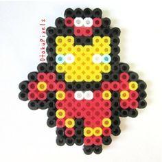 Iron Man perler beads by otakupixel