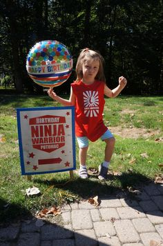 Ninja Warrior-themed Birthday Party - fun ideas!