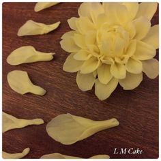 Making sugar dahlias - LM Cake Design (Lisa Templeton From Denheath)