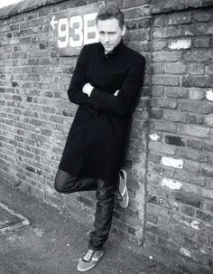 Tom Hiddleston for Elle UK. The eyebrows...Consider me dead.