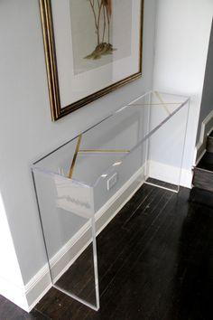 Lucite Furniture, Acrylic Furniture, Hallway Furniture, Unique Furniture, Cheap Furniture, Furniture Decor, Furniture Design, Kitchen Furniture, Furniture Stores