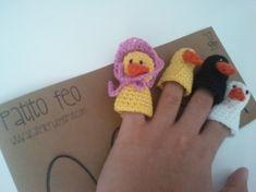Marionetas de dedo cuentacuentos / AZ Atelier - Artesanio
