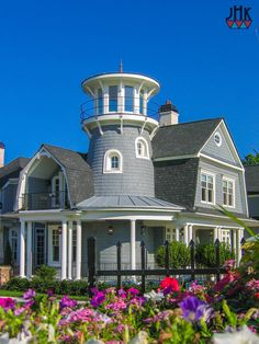Seaside & Low Country — Home Plans by Klippel Residential Designs, LLC Low Country Homes, Country House Plans, Beautiful Buildings, Beautiful Homes, Beautiful Places, Lighthouse Pictures, Tower House, House Elevation, Craftsman House Plans