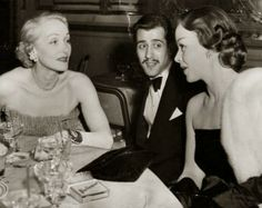 MARLENE DIETRICH with daughter Maria Riva