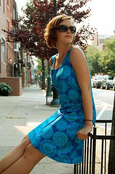 Summer Dress  by spoolsewing, via Flickr