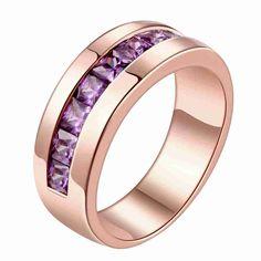 Free Shipping 2015 New  Austrian Crystal rings for men Inside circle ring men Gift for her #Affiliate