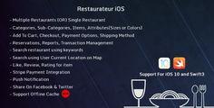 Restaurateur iOS (Full Application For Restaurant Platform) - https://codeholder.net/item/mobile/restaurateur-ios-full-application