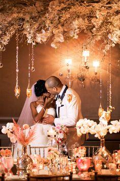Wedding Day Romance by Nadia D Photo | Mariyam and Lanre | Nigerian Wedding in Atlanta | Wedding Decor by Andy Beach
