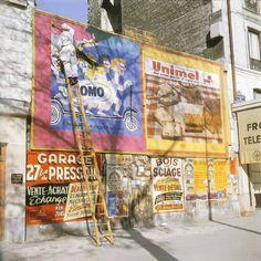 #photo #histoire Bld de Belleville à #Paris20, 1960, par Jean Jéhan #PEAV @Menilmuche