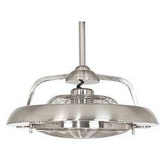 Possini Euro Segue Brushed Nickel Finish 5-Light Ceiling Fan