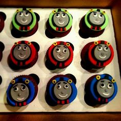 Thomas the Engine Theme Cake by Sweet Temptations www.Sweet-Temptations.co