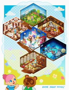   MY ACNL home! These will be available as prints...