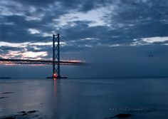 Forth Road Bridge. Watched it gradually being built and then Queen opening it!