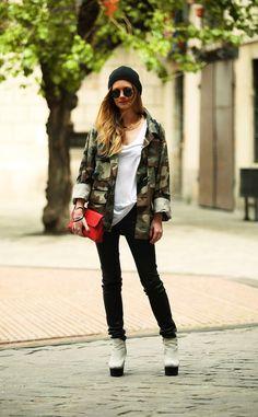 Barcelona Street Style via Vogue es