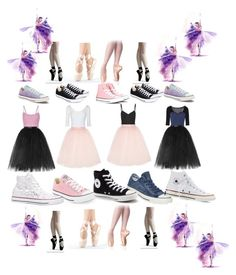 """""""Ballet"""" by stonge-02 on Polyvore featuring Ballet Beautiful and Converse"""