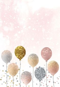 Pink Glitter Background, Gold Wallpaper Background, Flowery Wallpaper, Cute Wallpaper Backgrounds, Wallpaper Iphone Cute, Flower Backgrounds, Cute Wallpapers, Happy Birthday Greetings Friends, Happy Birthday Wishes Photos