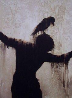 I dig dark gloomy creepy art. Arte Horror, Horror Art, Art Et Illustration, Illustrations, Urbane Kunst, Arte Obscura, Creepy Art, Scary, Deviant Art