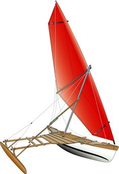 Wooden Boat Plans For Free Kite Surf, Outrigger Canoe, Wood Boat Plans, Sailboat Plans, Build Your Own Boat, Canoe And Kayak, Canoe Trip, Dinghy, Boat Dock