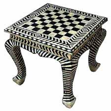 We have been manufacturing Inlay Furniture like Bedside, Mirror, Side Table, Coffee Table, Sideboards, Console, TV. Unit, Chair, Sofa, Dining Tables, Book Cases, Almirah, made of Bone Inlay Commonly known as Bone Inlaid Wood Furniture, We have also expertise in Mother of Pearl Inlay Furniture items.