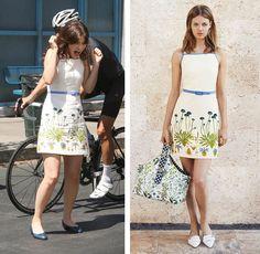 New Girl Fashion: Jess' Floral Sun Dress - http://shetv.net/new-girl-fashion-jess-floral-sun-dress/
