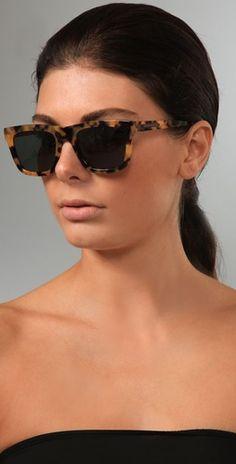 Karen Walker  Deep Freeze Sunglasses  Style #:KWALK30001  $180.00