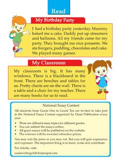 Writing skill - grade 1 - picture composition  (9) English Stories For Kids, Learning English For Kids, Teaching English Grammar, English Lessons For Kids, English Worksheets For Kids, English Writing Skills, English Reading, Grammar Lessons, Writing Lessons