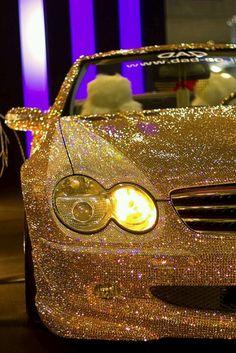 Awsome glitter car