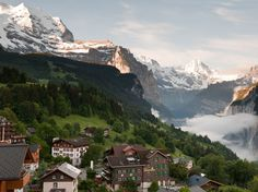 Switzerland is so pretty. I will be there someday!