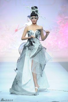 China Fashion Week : les dernières tendances de maquillage 2012