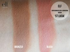 elf Contouring Blush & Bronzing cream Duo St Lucia