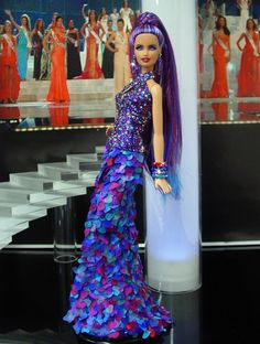 Miss Dominican Republic ♥ 2013/14  by NiniMomo's Barbie.