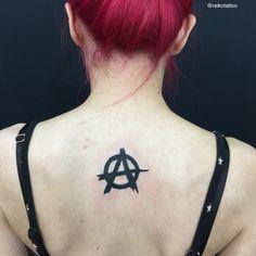 #anarchysymbol #tattoo #アナーキー #マーク #タトゥー #reikotattoo #studiokeen #名古屋 #大須 #矢場町