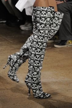 Jeremy Scott Fall 2013. I so see my Tiffy in these