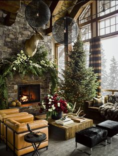 Minus a few things, but this is beautiful. And a dream Christmas home to have.