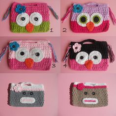 Super soft Crochet Purses Quick Ship!