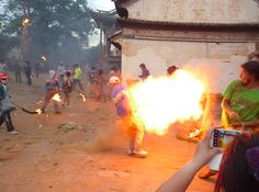 The torch festival in #Shaxi last year (2013).
