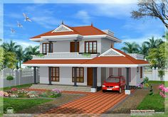 Architecture Design Kerala Model indian design houses | kerala model house design - 2292 sq. ft