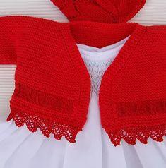 tutorial chaqueta de bebé, baby cardian, español-english Polo, Baby Knitting, Baby Dress, Crochet Top, Pullover, Children, Sweaters, Dresses, Women